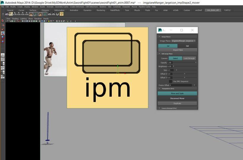 Mo Image Plane Manager for Maya