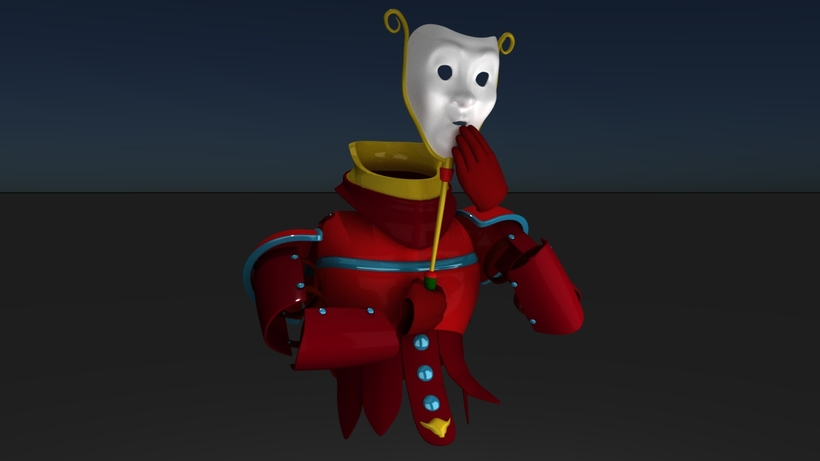 Haunted Armor for Maya - Free Character Rigs Downloads for Maya