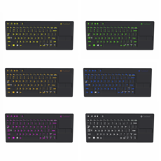 Keyboard Multi-Colors 3D Model