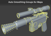 Auto Smoothing Groups 1.1.0 for Maya (maya script)