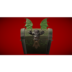 Dragon Chest 3D Model