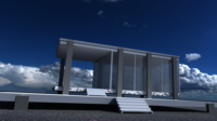 Farnsworth House 3D Model