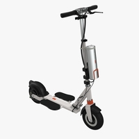 Electric Kick Scooter 3D Model