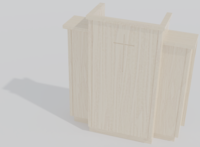 300W Wing Pulpit 3D Model