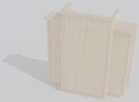 300W Wing Pulpit 3D Model