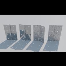 Door Hinges 3D Model