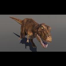 Tyrannosaur Jurassic Dinosaur 3D Model