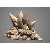 23 16 57 263 wireframe normal maps 3d cave crystals 2 4