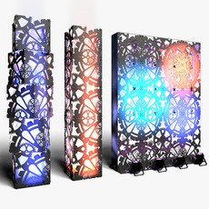 Stage Decor 01 3D Model