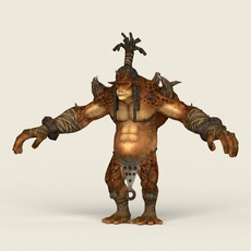 Game Ready Fantasy Hunter 3D Model