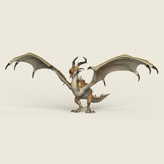 Game Ready Warrior Dragon 3D Model