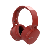 BLUETOOTH_HEADPHONES_RED 3D Model