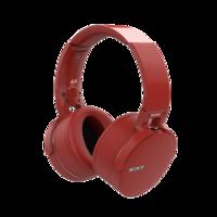 BLUETOOTH_HEADPHONES_RED 3D Model