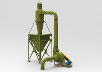 Industrial Cyclone Dust Collector 3D Model