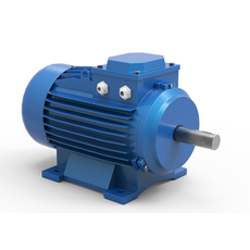 Stationary Electric Motor 3D Model