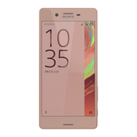 SONY_XPERIA_X_ROSE_GOLD 3D Model
