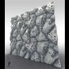 21 35 00 455 volcanic stone 3d tiling sculpt 2 game art 4