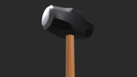 Sledgehammer 3D Game Asset 3D Model