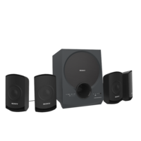 SONY SA D10 MULTI MEDIA SPEAKERS BLACK 3D Model