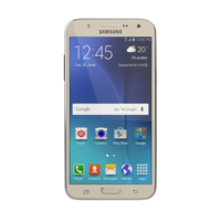 Samsung Galaxy J700F Gold 3D Model