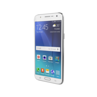Samsung Galaxy J7 White 3D Model