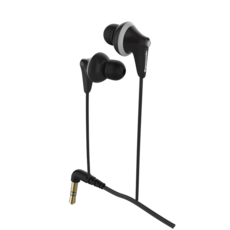 Panasonic Earphones Black 3D Model