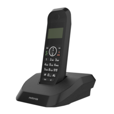 MOTOROLA CORDLESS PHONE BLACK 3D Model