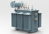 Oil Power Transformer 3D Model