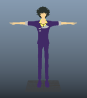 Cowboy Bebop_Spike-Spegel 1.0.0 for Maya