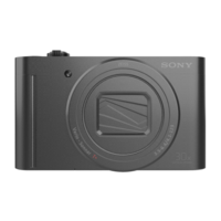 SONY DIGICAM 18MP WX500 BLACK 3D Model