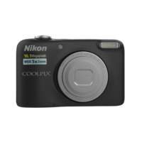 NIKON DIGICAM 16MP L31 BLACK 3D Model