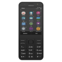 NOKIA 230 DS DARK SILVER 3D Model