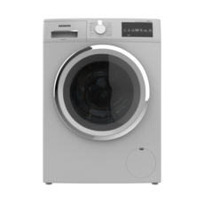 WASHING MACHINE 8KG FRONT LOAD SILVER 3D Model