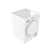 DRYER 7KG WT44E100IN CD WHT 3D Model