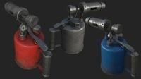 Old Blowtorch PBR 3D Model