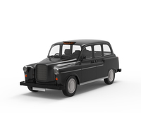 Classic London Cab Austin FX4 3D Model