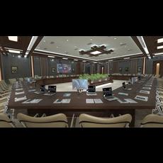 Meeting Room 1 3D Model