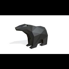 bear figure 2 3D Model