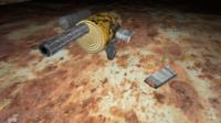 Pistol homemade 3D Model