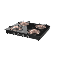 Cooktop Splendor 4BB BK 3D Model
