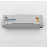 SPLIT INVERTER AIR CONDITIONER WHITE 3D Model
