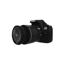 EOS 1300D DOUBLE ZOOM 18MP DSLR CAMERA 3D Model