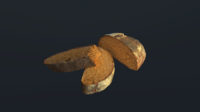 Tasty Bread 07 3D Model