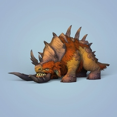 Fantasy Monster Animal 3D Model