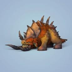 Fantasy Monster Animal 3D Model