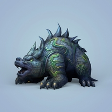 Fantasy Ghost Monster 3D Model