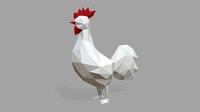 rooster  figure 3D Model