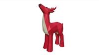 Deer figure 3D Model