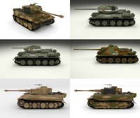 Eastern Front Armor Pack v2 3D Model
