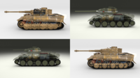 Eastern Front Armor Pack with Interior and Engine Bay v1 3D Model
